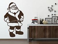 Wandtattoo Weihnachtsmann | Bild 4