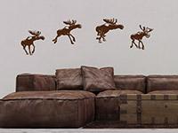 Wandtattoo Weihnachtsrentiere | Bild 3