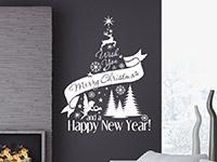 Wandtattoo Weihnachtsbaum I wish | Bild 2