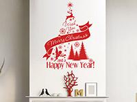 Wandtattoo Weihnachtsbaum I wish | Bild 3