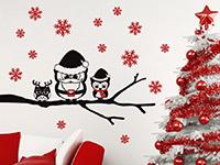 Wandtattoo Weihnachtseulen | Bild 3