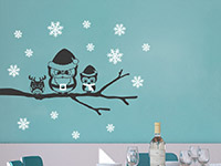 Wandtattoo Weihnachtseulen | Bild 4