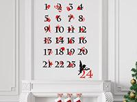Wandtattoo Adventskalender | Bild 2