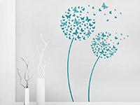 Wandtattoo Blüten Schmetterlinge im Flur