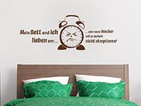 Wandtattoo Mein Bett und ich... | Bild 2