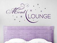 Wandtattoo Mond Lounge