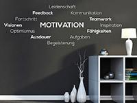 Wandtattoo Wortwolke Motivation | Bild 3