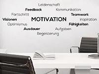 Wandtattoo Wortwolke Motivation | Bild 4