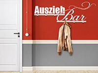 Garderobe AusziehBar im Flur
