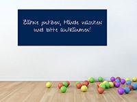 Wandtattoo Tafelfolie - 150 x 61,5 cm | Bild 4