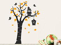 Wandtattoo Kinderbaum mit Eule | Bild 2