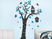 Wandtattoo Kinderbaum mit Eule | Bild 4