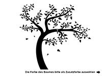 Wandtattoo Lebendiger Baum Motivansicht