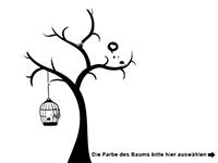 Wandtattoo Herziger Baum Motivansicht