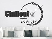 Wandtattoo Uhr Chillout | Bild 3