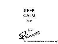 Wandtattoo Be a Princess Motivansicht