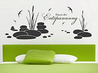Wandtattoo Raum der Entspannung mit Vögeln | Bild 3