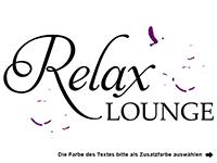 Wandtattoo Relax Lounge Motivansicht