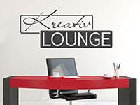 Wandtattoo Kreativ Lounge | Bild 2