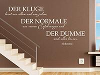 Wandtattoo Der Kluge | Bild 3