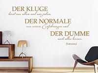 Wandtattoo Der Kluge | Bild 4
