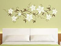 Wandtattoo Blumenornament | Bild 2