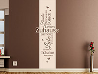 Wandbanner Zuhause | Bild 3
