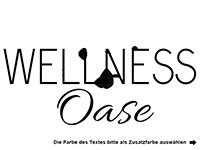 Wandtattoo Wellness Oase mit Kreisen Motivansicht