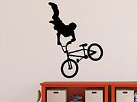Wandtattoo BMX Fahrer