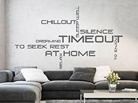 Wandtattoo Timeout | Bild 3