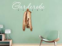 Wandtattoo Garderobe | Bild 4