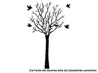 Garderobe Sommerbaum Motivansicht