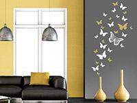 Wandtattoo Deko Schmetterlinge | Bild 4