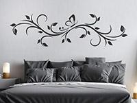 Wandtattoo Dekoratives Blätterornament | Bild 2