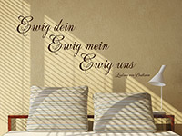Wandtattoo Ewig uns | Bild 4