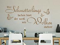 Wandtattoo Wer Schmetterlinge... | Bild 3