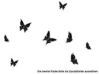Wandtattoo Origami Schmetterlinge Motivansicht