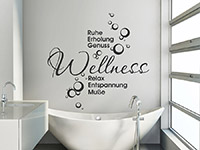 Wandtattoo Wellnessoase | Bild 2