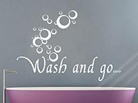 Wandtattoo Wash and go... | Bild 2