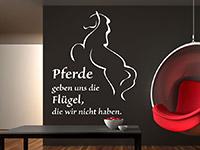 Wandtattoo Pferde geben uns... | Bild 4