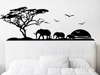 Wandtattoo Afrikanische Landschaft | Bild 3