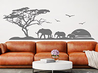 Wandtattoo Afrikanische Landschaft | Bild 4