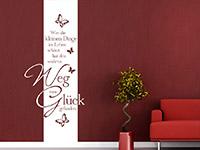 Wandbanner Wer die kleinen Dinge | Bild 2