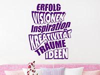 Wandtattoo Erfolg Visionen Inspiration | Bild 3