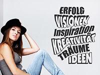 Wandtattoo Erfolg Visionen Inspiration | Bild 4