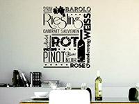 Wandtattoo Weinsorten | Bild 3