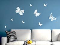 Wandtattoo Verzierte Schmetterlinge | Bild 3