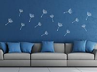 Wandtattoo Zusatzsamen Set Pusteblumen im Wind | Bild 2
