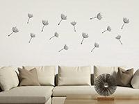 Wandtattoo Zusatzsamen Set Pusteblumen im Wind | Bild 3