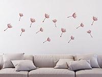 Wandtattoo Zusatzsamen Set Pusteblumen im Wind | Bild 4